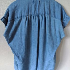 Madewell Tops - Madewell Central Shirt - Bright Indigo